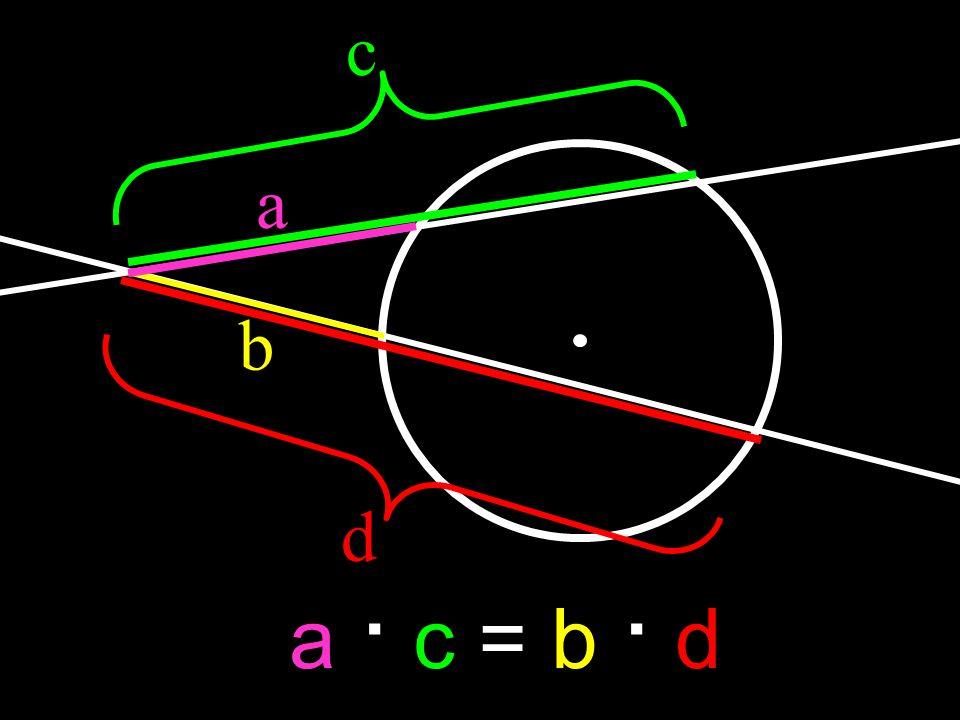 c a b d a · c = b · d
