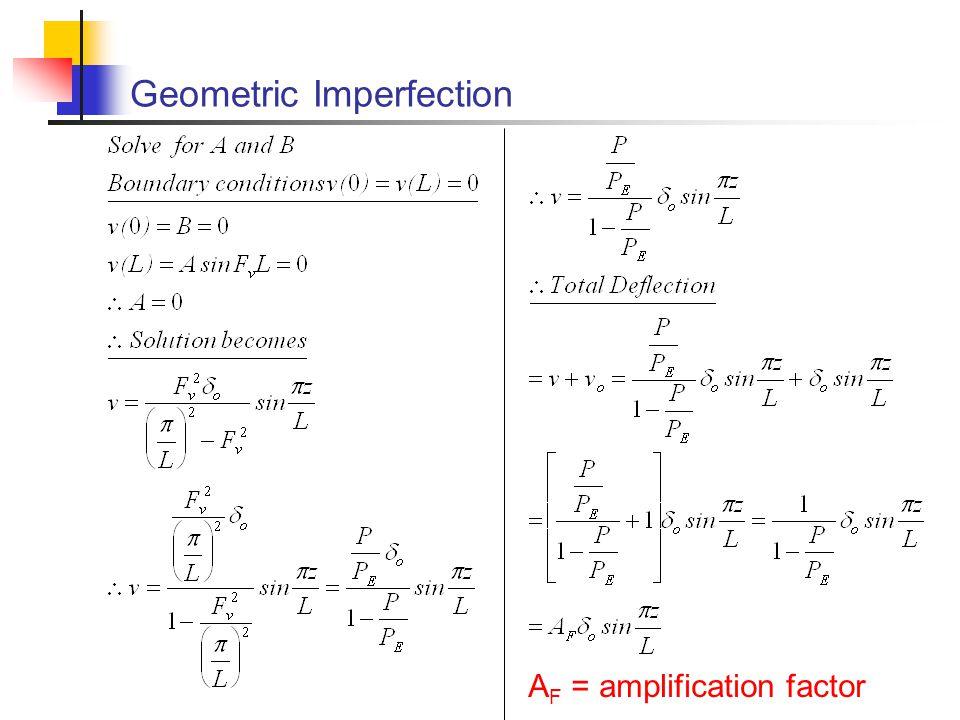 Geometric Imperfection