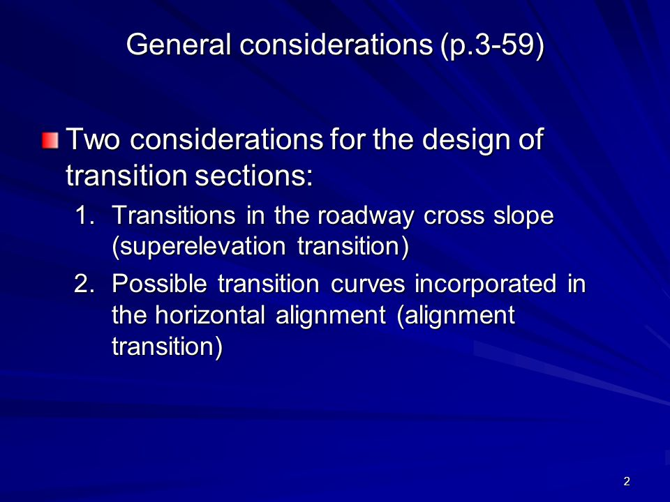 General considerations (p.3-59)