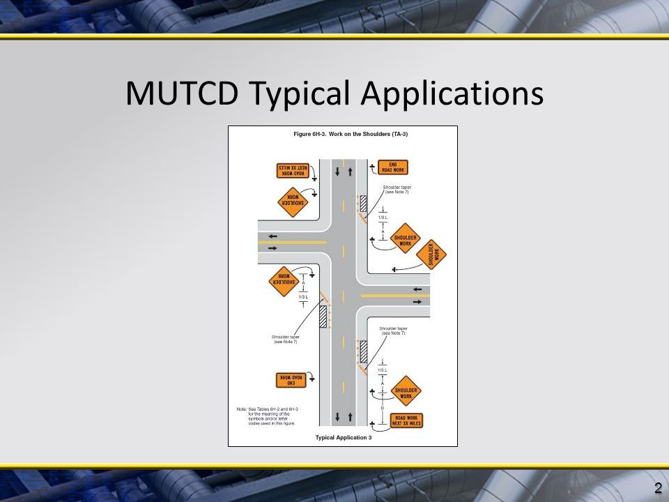 MUTCD Typical Applications