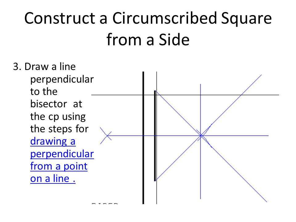 Construct a Circumscribed Square from a Side