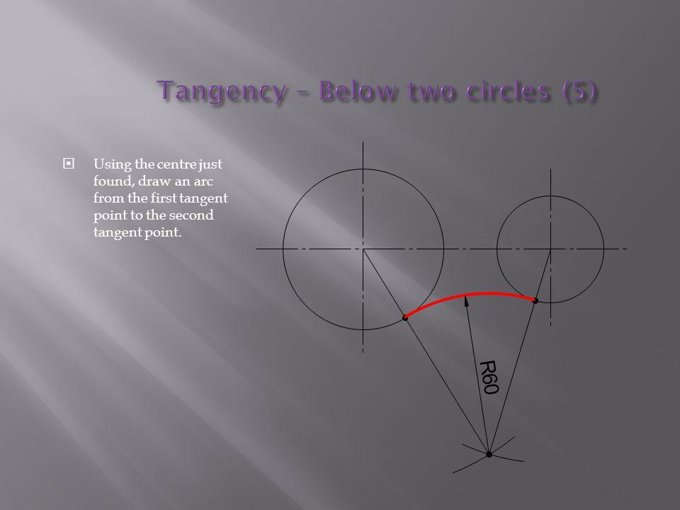 Tangency – Below two circles (5)