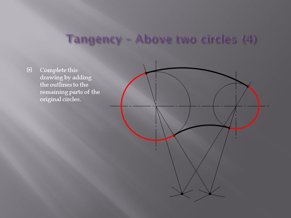 Tangency – Above two circles (4)