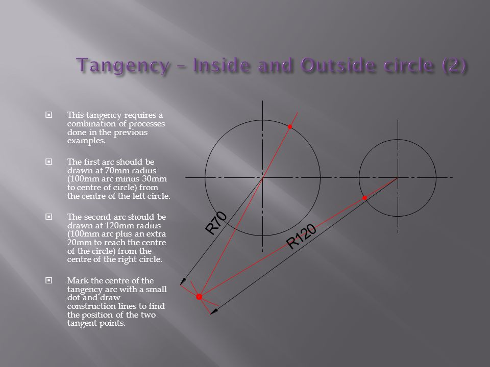 Tangency – Inside and Outside circle (2)