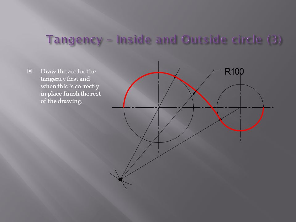 Tangency – Inside and Outside circle (3)
