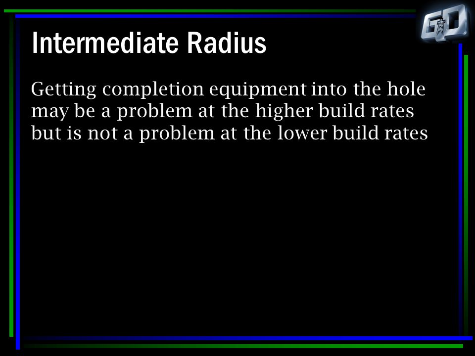 Intermediate Radius