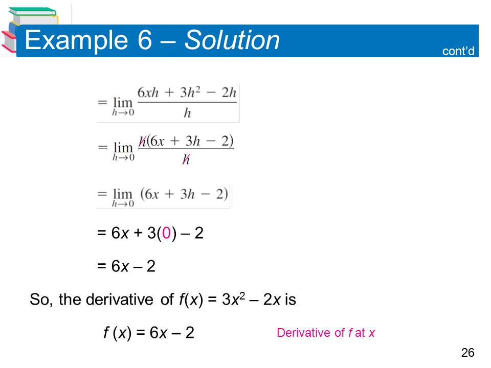 Example 6 – Solution = 6x + 3(0) – 2 = 6x – 2