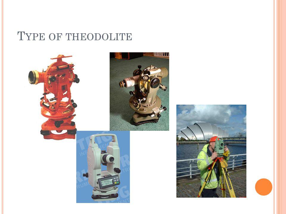 Type of theodolite