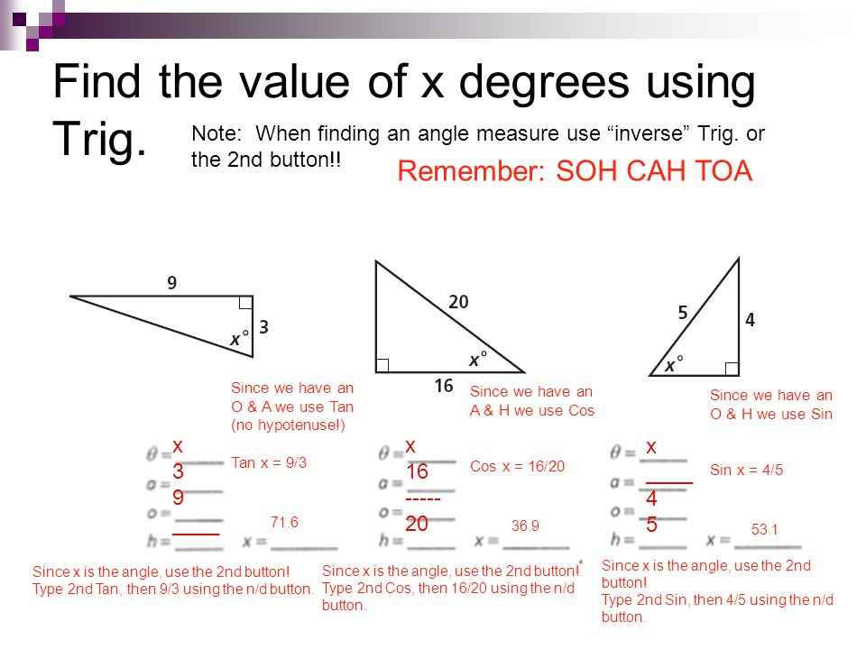 8 4 sine cosine and tangent ratios ppt video online download. Black Bedroom Furniture Sets. Home Design Ideas