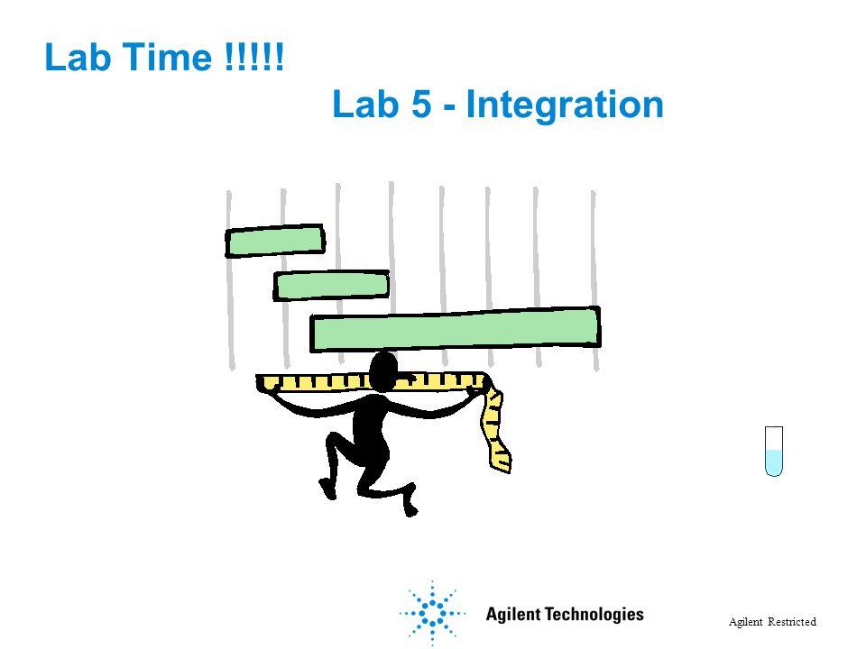 Lab Time !!!!! Lab 5 - Integration