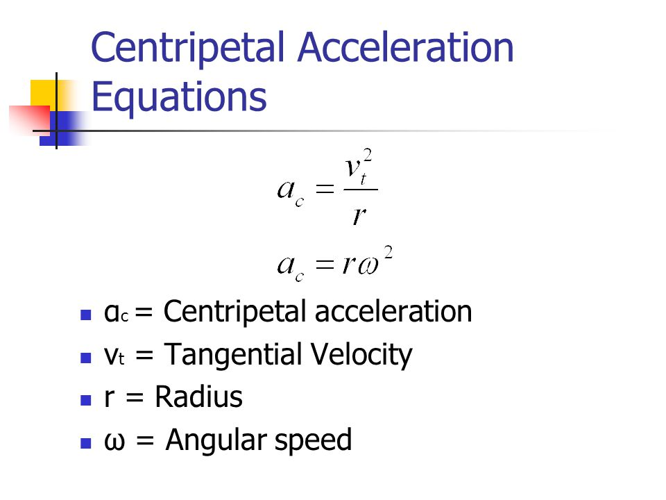 formula for acceleration using force and mass relationship