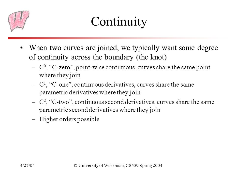 © University of Wisconsin, CS559 Spring 2004