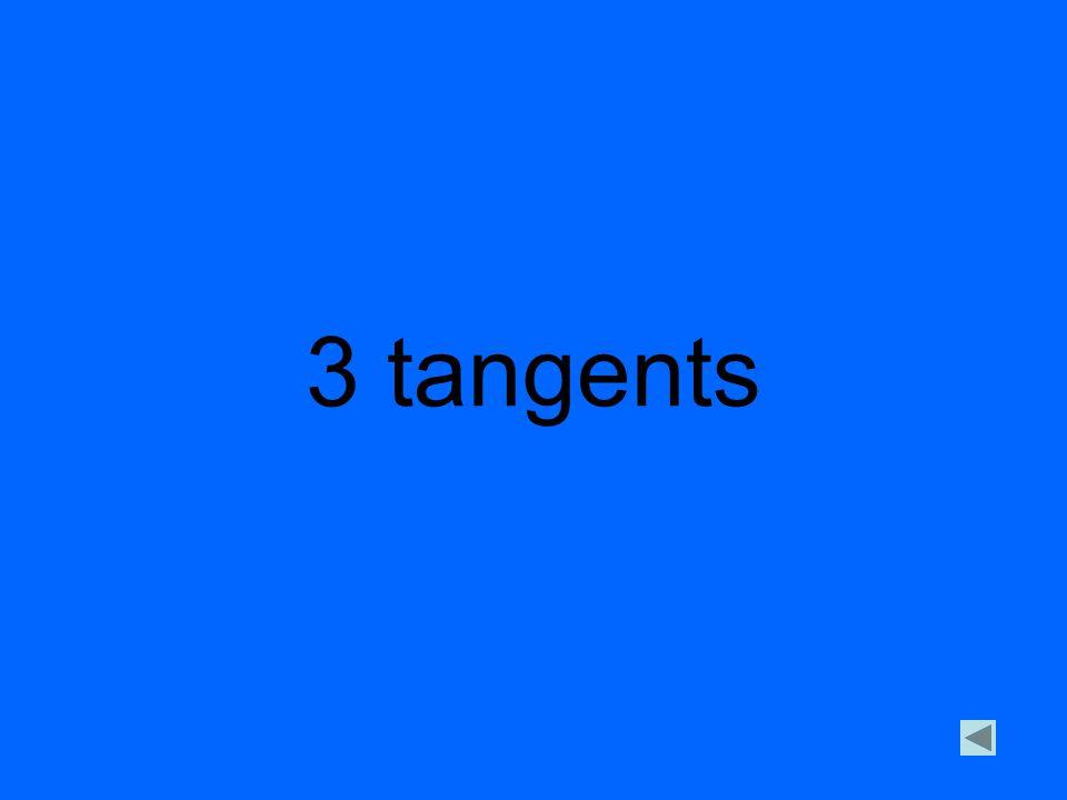 3 tangents