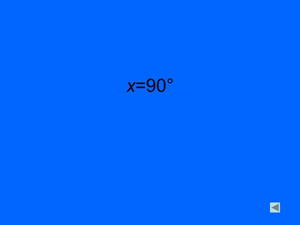 x=90°