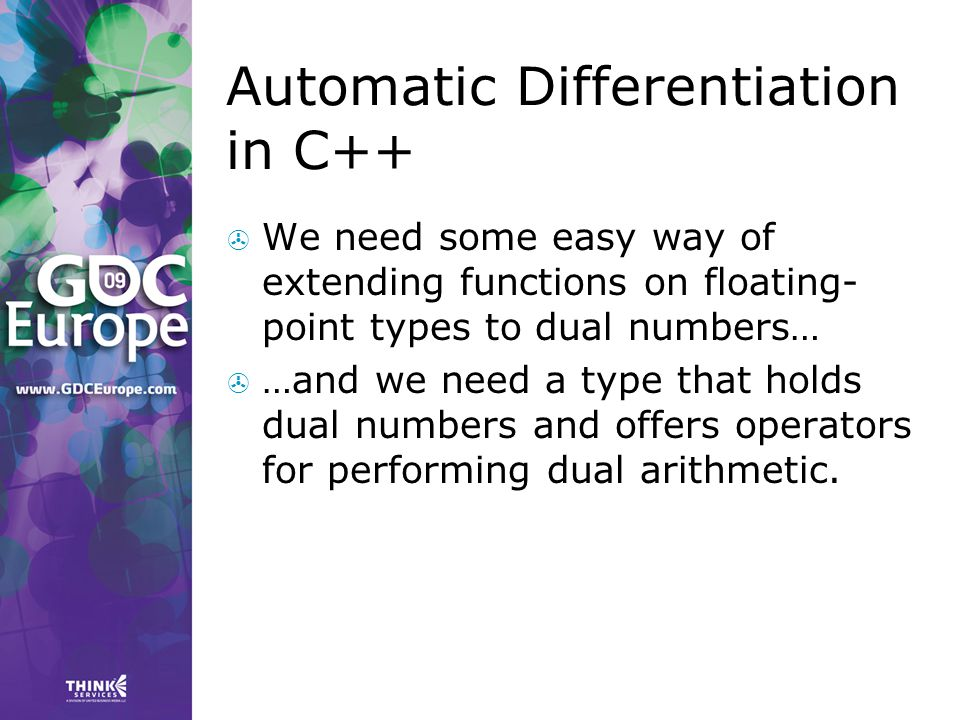 Automatic Differentiation in C++