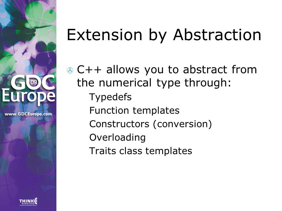 Extension by Abstraction