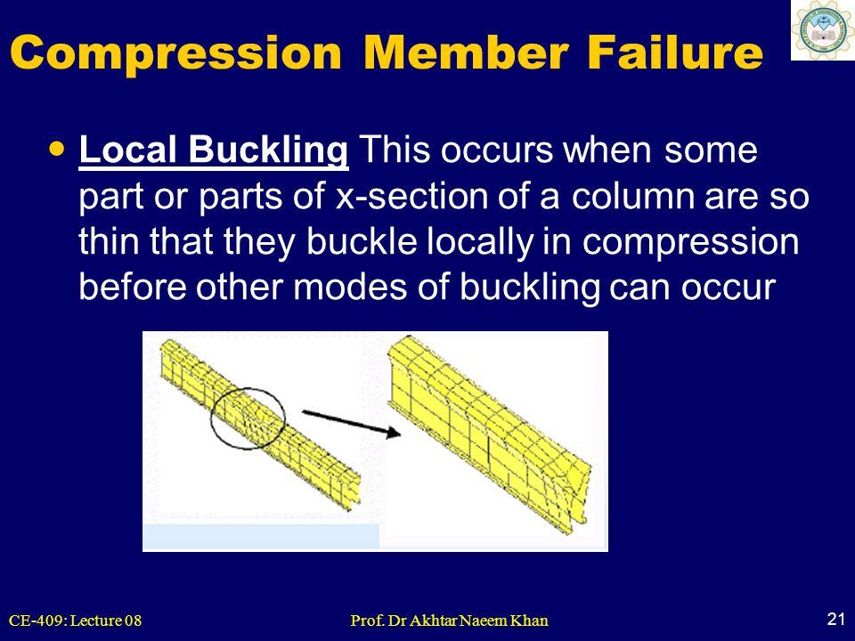Compression Member Failure