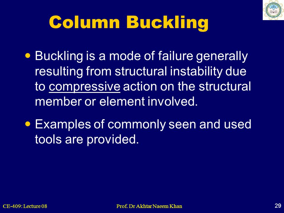 Column Buckling