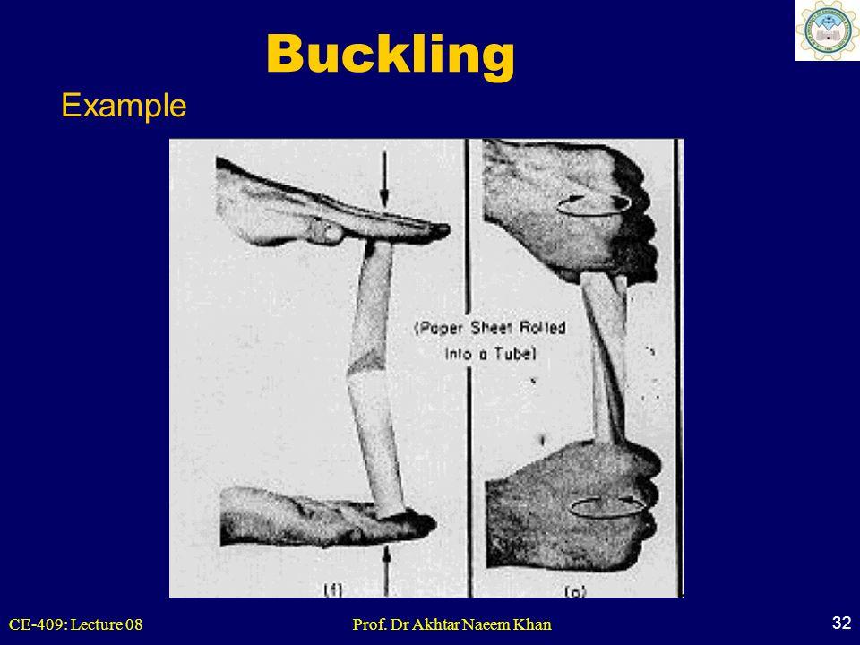 Buckling Example