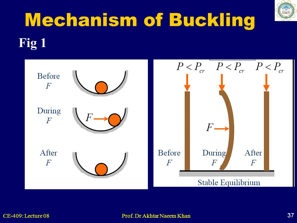 Mechanism of Buckling Fig 1