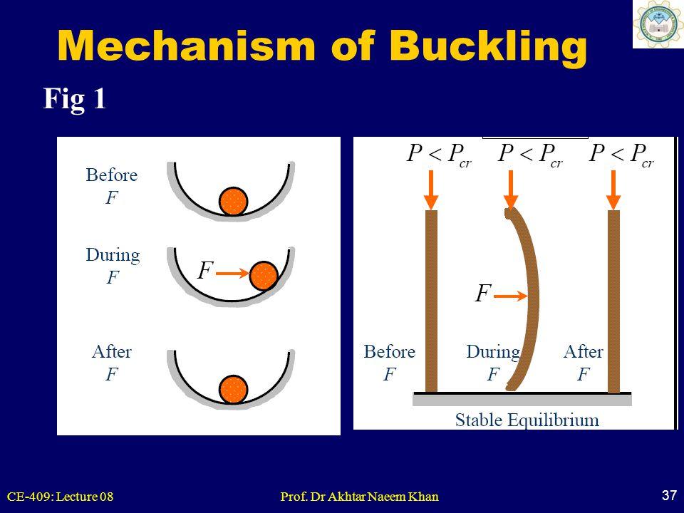 Mechanism of Buckling Fig 1