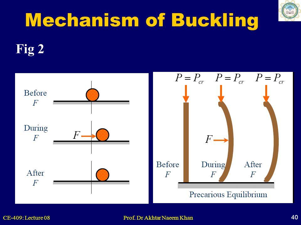 Mechanism of Buckling Fig 2