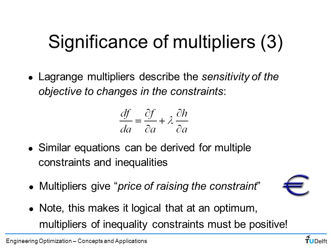 Significance of multipliers (3)