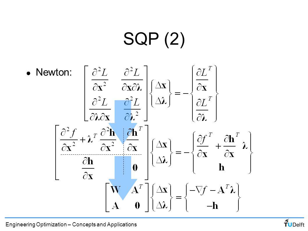 SQP (2) Newton: