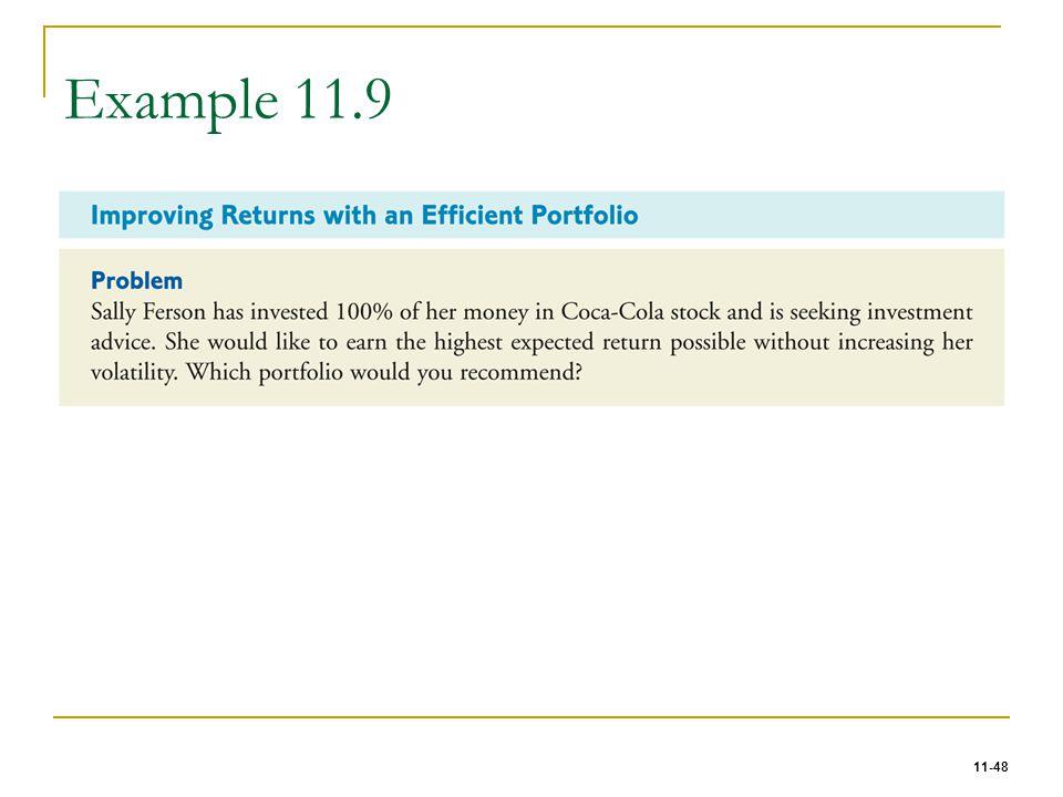 Example 11.9
