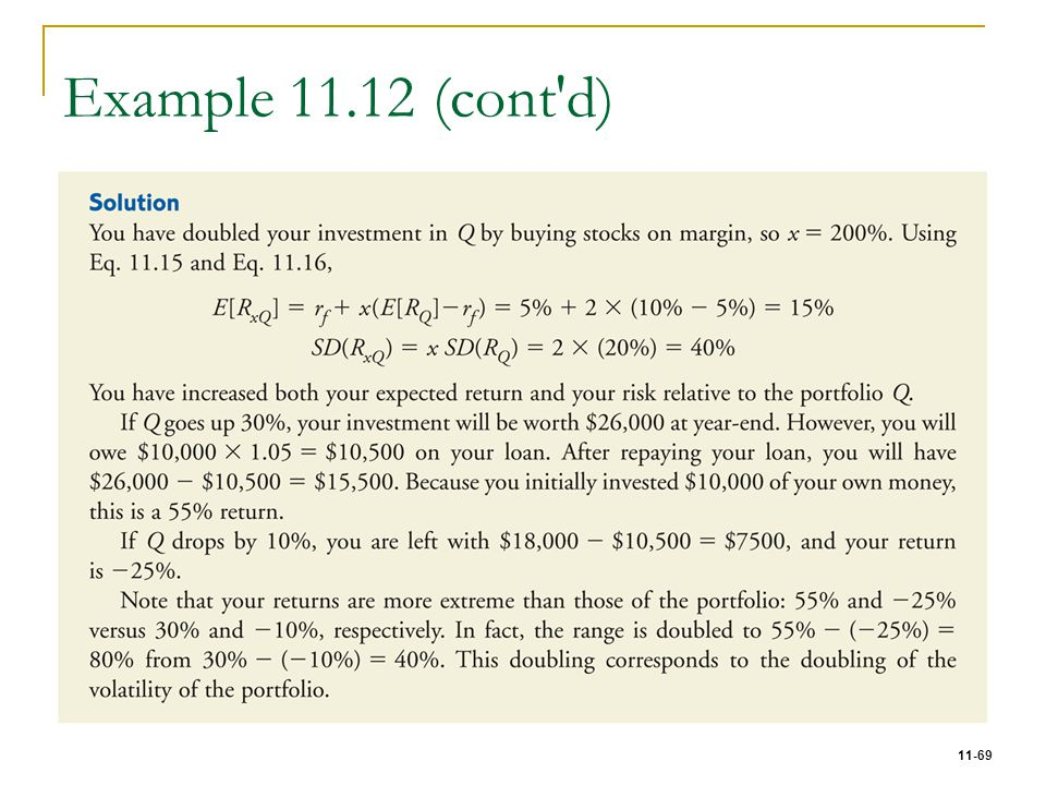 Example 11.12 (cont d)