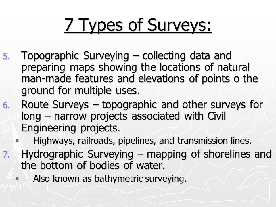7 Types of Surveys: