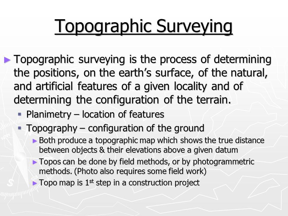 Topographic Surveying