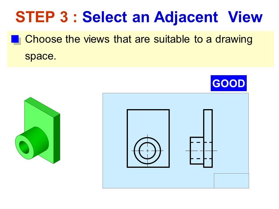 STEP 3 : Select an Adjacent View