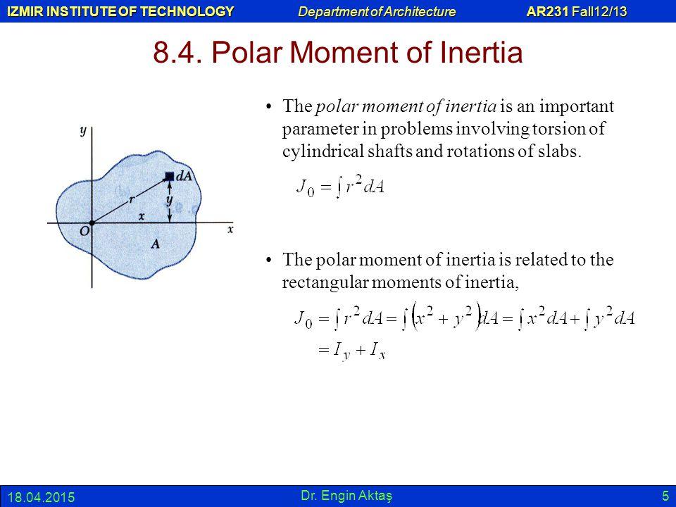 8.4. Polar Moment of Inertia