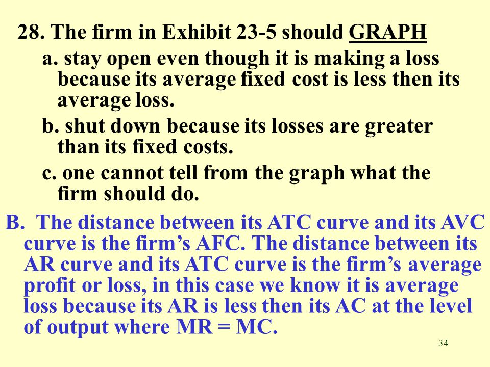 28. The firm in Exhibit 23-5 should GRAPH