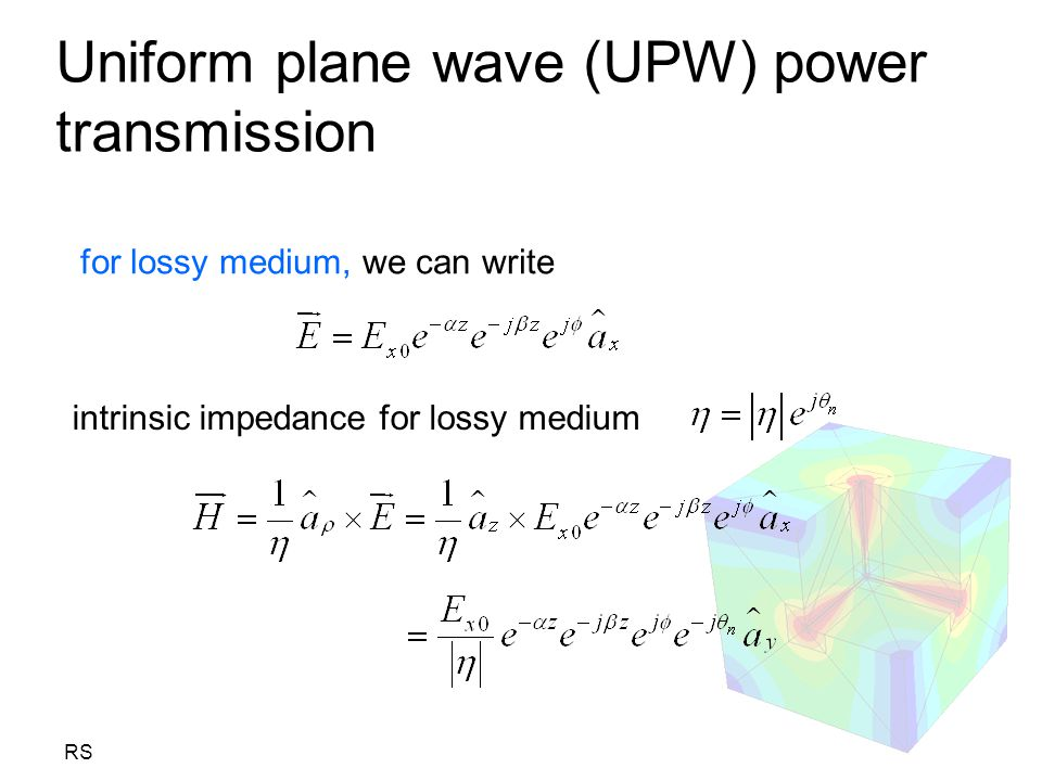Uniform plane wave (UPW) power transmission