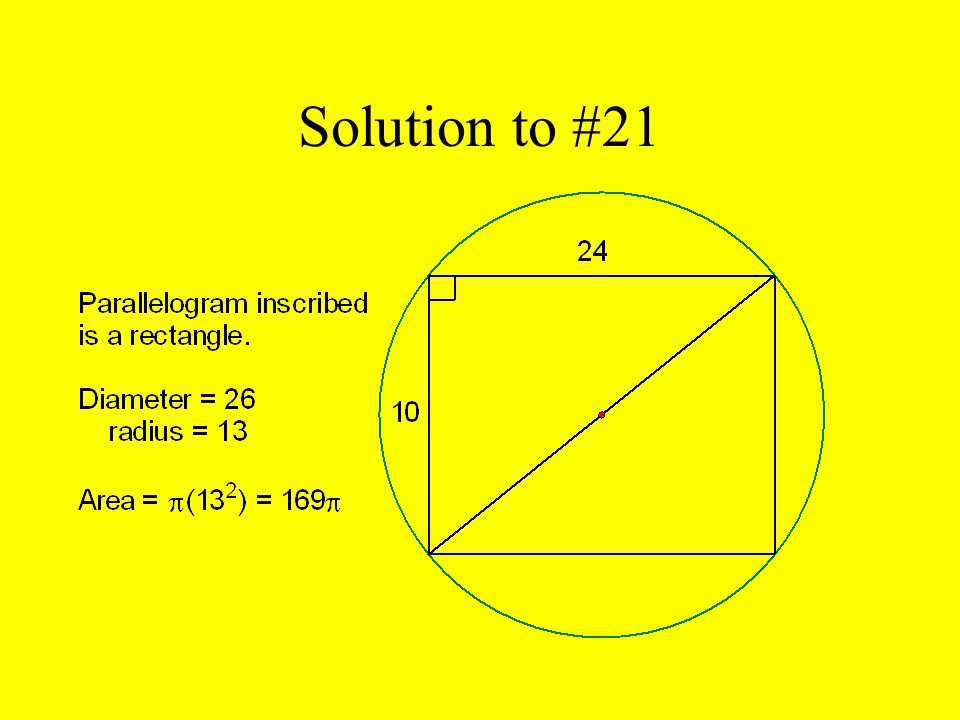 Solution to #21