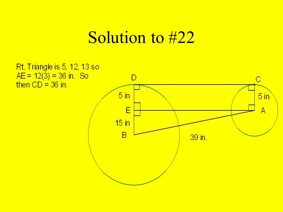 Solution to #22