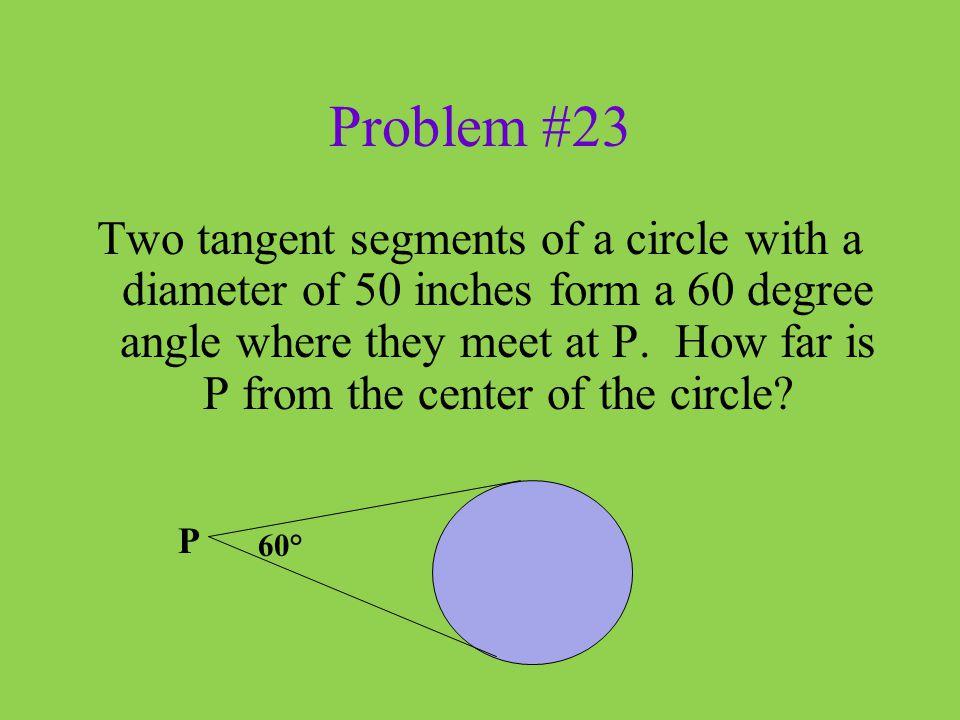 Problem #23