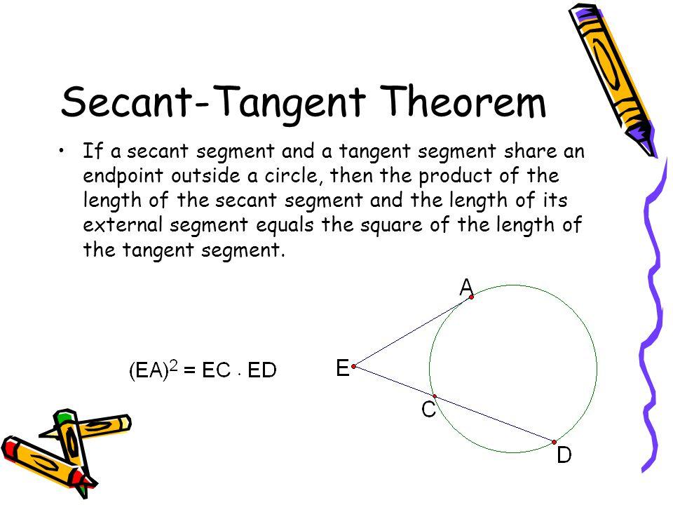 Secant-Tangent Theorem