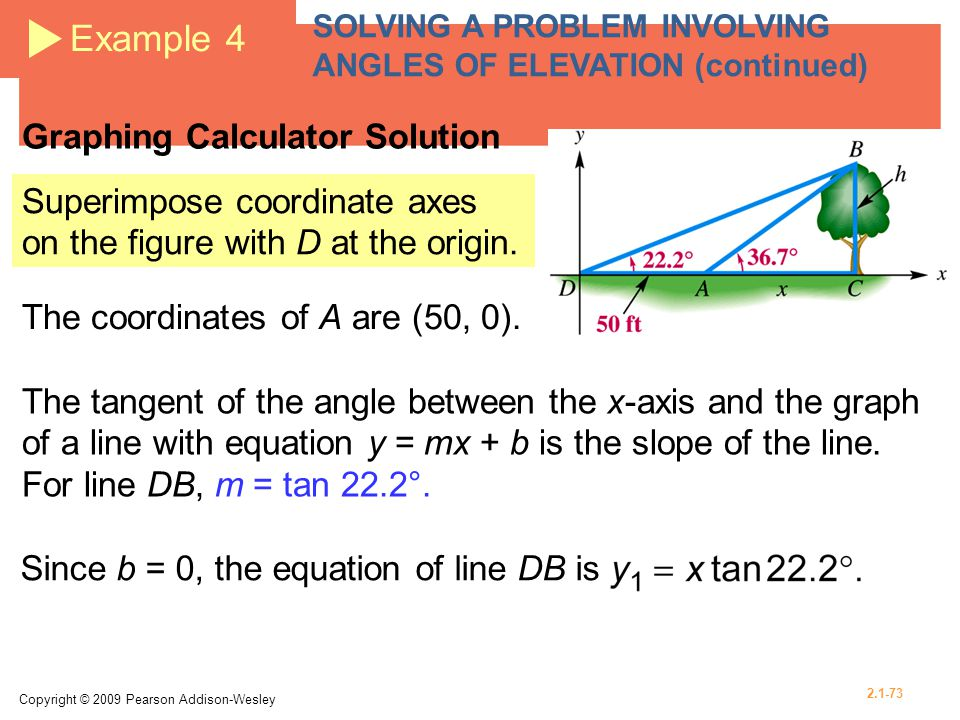 Example 4 Graphing Calculator Solution