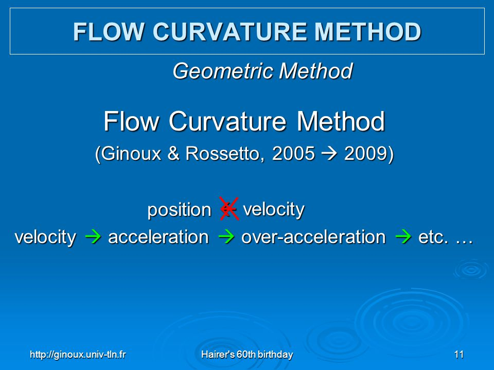 velocity  acceleration  over-acceleration  etc. …