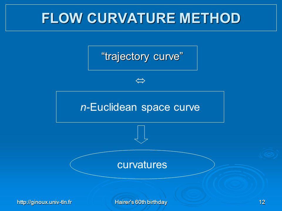 n-Euclidean space curve
