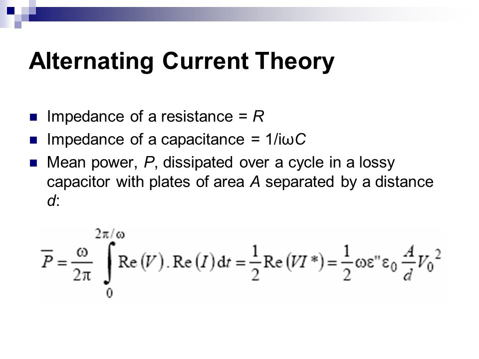 Alternating Current Theory