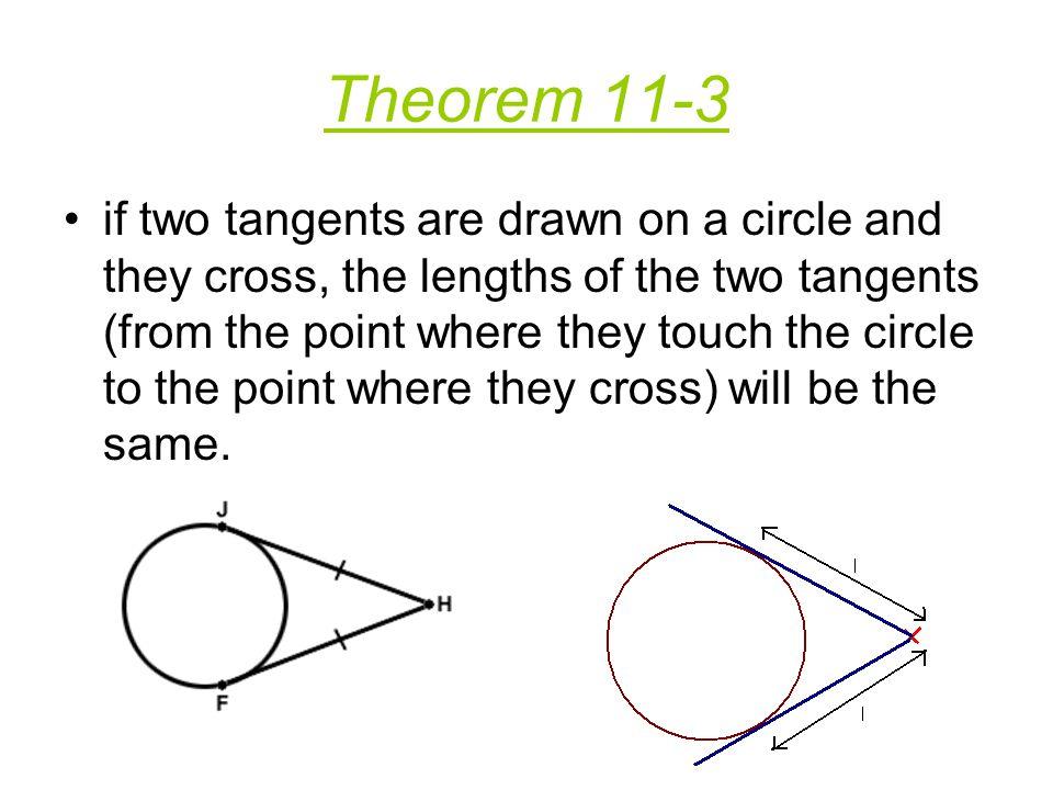 Theorem 11-3