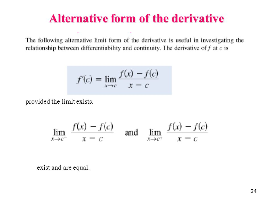 Calculus 2 1 Introduction To Differentiation Ppt Video Online Download