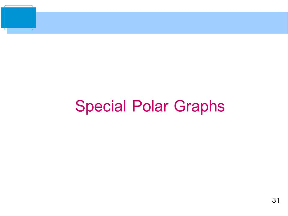 Special Polar Graphs