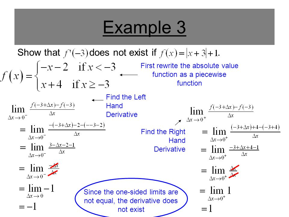First rewrite the absolute value function as a piecewise function
