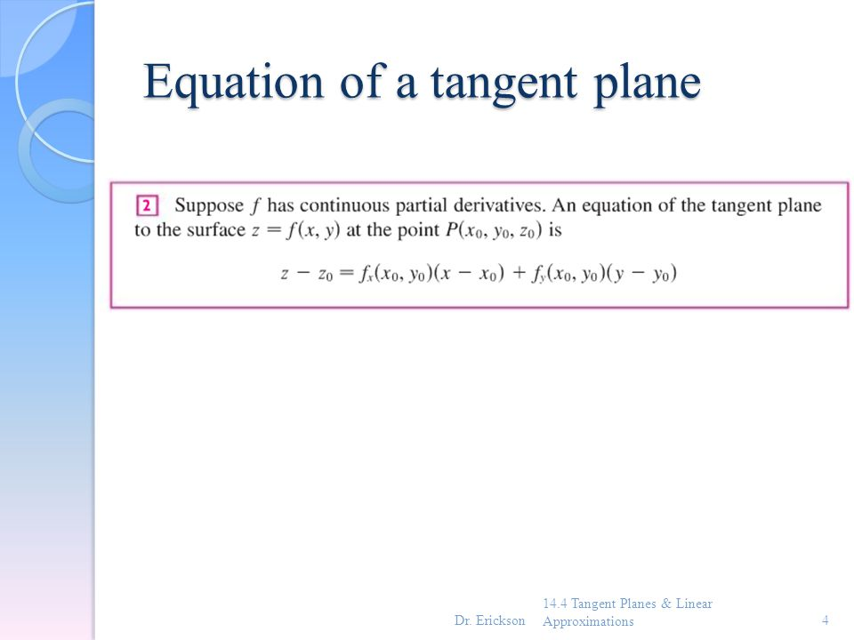 how to find the equation of the plane