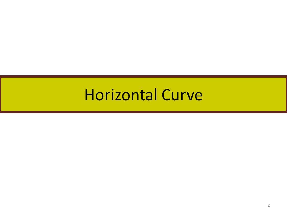 Horizontal Curve